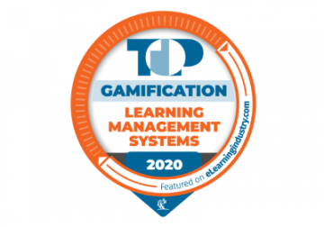 Top gamification 2020 Badge