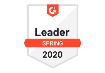 G2 Spring Leader 2020 Badge
