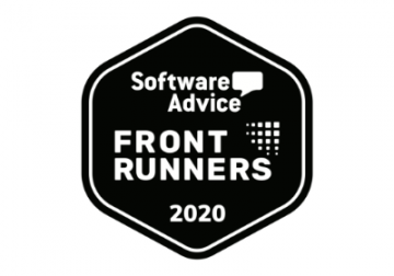 Software advice Front runner 2020 Badge